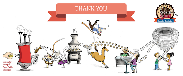 thank you kickstarter contributors