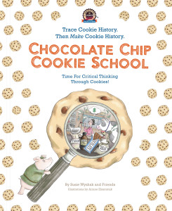 Chocolate Chip Cookie School book cover