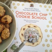 Chocolate Chip Cookie School activity book