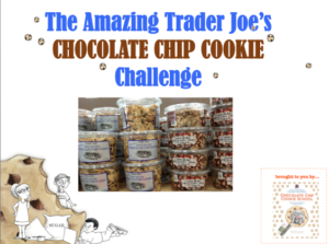 Trader Joes cookie comparison project based exercise